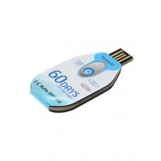 Disposable temperature recorder TZ-TempU02